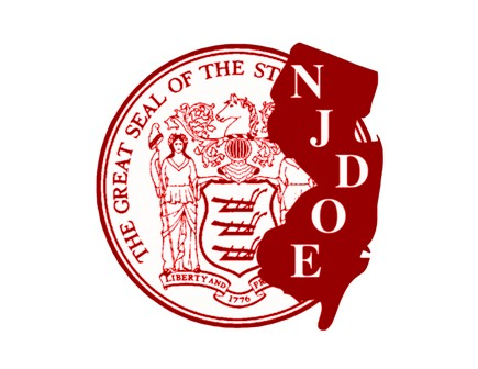 nj dept of education seal red